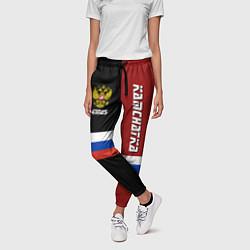 Брюки женские Kamchatka, Russia цвета 3D-принт — фото 2