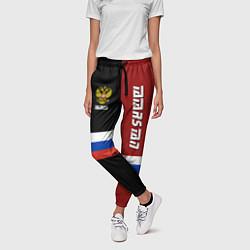 Брюки женские Tatarstan, Russia цвета 3D-принт — фото 2