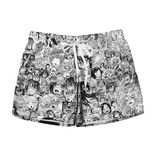 Женские шорты AHEGAO / 3D-принт – фото 1