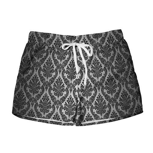Женские шорты Гламурный узор / 3D – фото 1