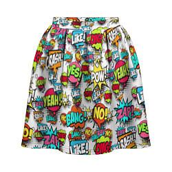 Женская юбка Pop art Fashion