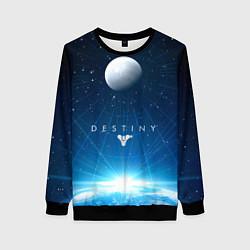 Свитшот женский Destiny Space цвета 3D-черный — фото 1