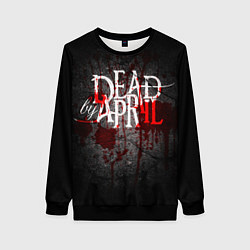 Свитшот женский Dead by April цвета 3D-черный — фото 1