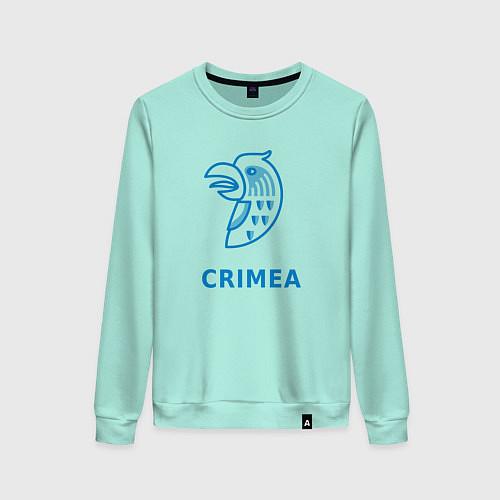 Женский свитшот Crimea / Мятный – фото 1
