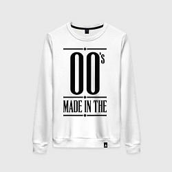 Свитшот хлопковый женский Made in the 00s цвета белый — фото 1