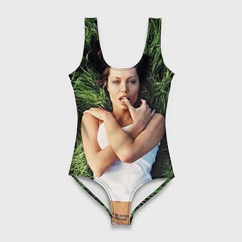 Женский купальник-боди Анджелина Джоли / 3D – фото 1