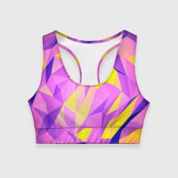 Топик спортивный женский Texture цвета 3D — фото 1