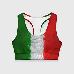 Топик спортивный женский Italian цвета 3D — фото 1