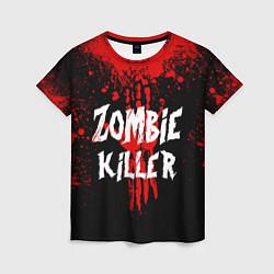 Футболка женская Zombie Killer цвета 3D — фото 1