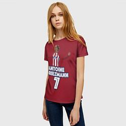 Футболка женская Antoine Griezmann 7 цвета 3D — фото 2