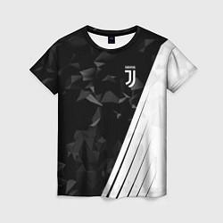 Женская футболка FC Juventus: Abstract