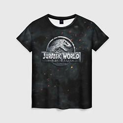 Футболка женская Jurassic World: Smoke & Ash цвета 3D — фото 1