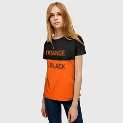 Футболка женская Orange Is the New Black цвета 3D — фото 2