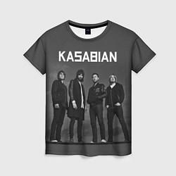 Футболка женская Kasabian: Boys Band цвета 3D-принт — фото 1