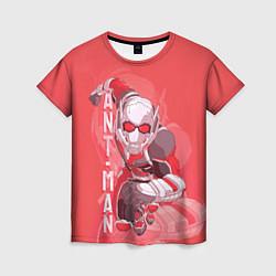Футболка женская Ant-man цвета 3D-принт — фото 1