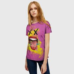 Женская 3D-футболка с принтом Birds of Prey XX, цвет: 3D, артикул: 10201984903229 — фото 2
