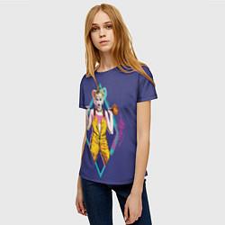 Футболка женская Harley Quinn цвета 3D — фото 2