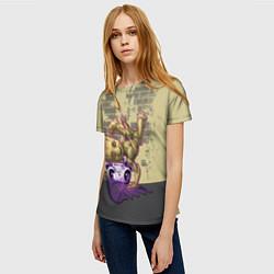 Футболка женская Groot цвета 3D-принт — фото 2