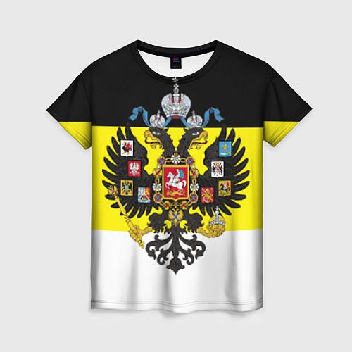 Женская футболка Имперский Флаг / 3D – фото 1
