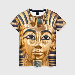 Футболка женская Фараон цвета 3D — фото 1