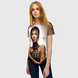 Футболка женская Beyonce Sexy цвета 3D-принт — фото 2