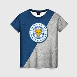Футболка женская Leicester City FC цвета 3D — фото 1