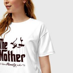 Футболка оверсайз женская The Mother цвета белый — фото 2