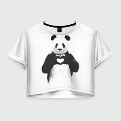 Женский топ Panda Love
