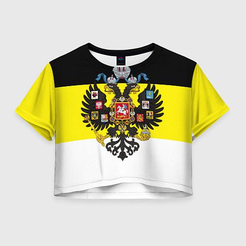 Женский топ Имперский Флаг / 3D – фото 1