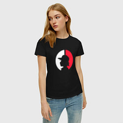 Футболка хлопковая женская Эш: ловец покемонов цвета черный — фото 2